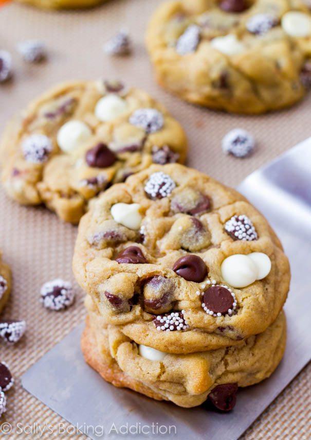 Biscuits aux pépites de chocolat Triple - Recettes du Monde