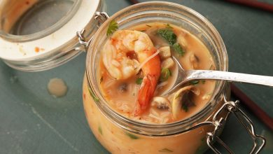 Photo of Diy Thai Curry de noix de coco avec crevettes recette de nouilles instantanées