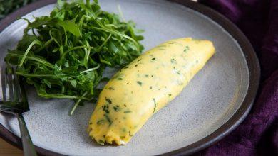 Photo of Français omelette avec amendes Recette Herbes