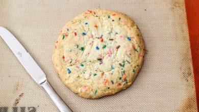 Photo of Un biscuit au sucre géant