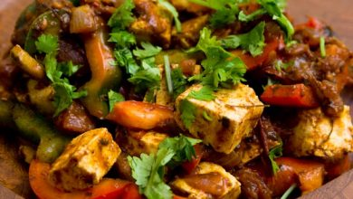 Photo of Kadhai Paneer (Stir Fried Cheese and Peppers) Recette