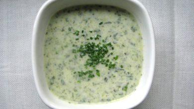 Photo of Recette de soupe au cresson frais