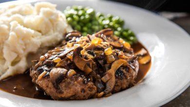 Photo of Recette de steak de Salisbury avec sauce brune aux champignons