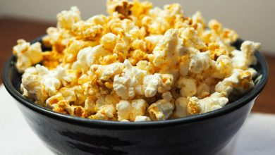 Photo of Thai Red Coconut Curry Popcorn Recette