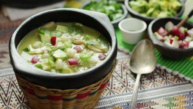 Photo of Pozole Verde de Pollo (Soupe mexicaine verte hominy et poulet) Recette