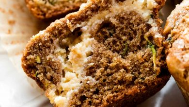 Photo of Muffins aux courgettes au fromage à la crème