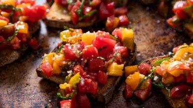 Photo of Recette fraîche de bruschetta de tomate d'été