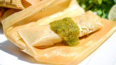 Photo of Tamales au piment vert et au porc