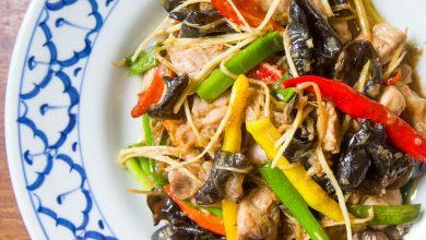 Photo of Gai Pad King (Sauté de poulet thaï et gingembre)