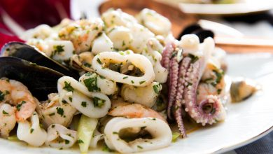 Photo of Salade de fruits de mer italienne (Insalata di Mare)