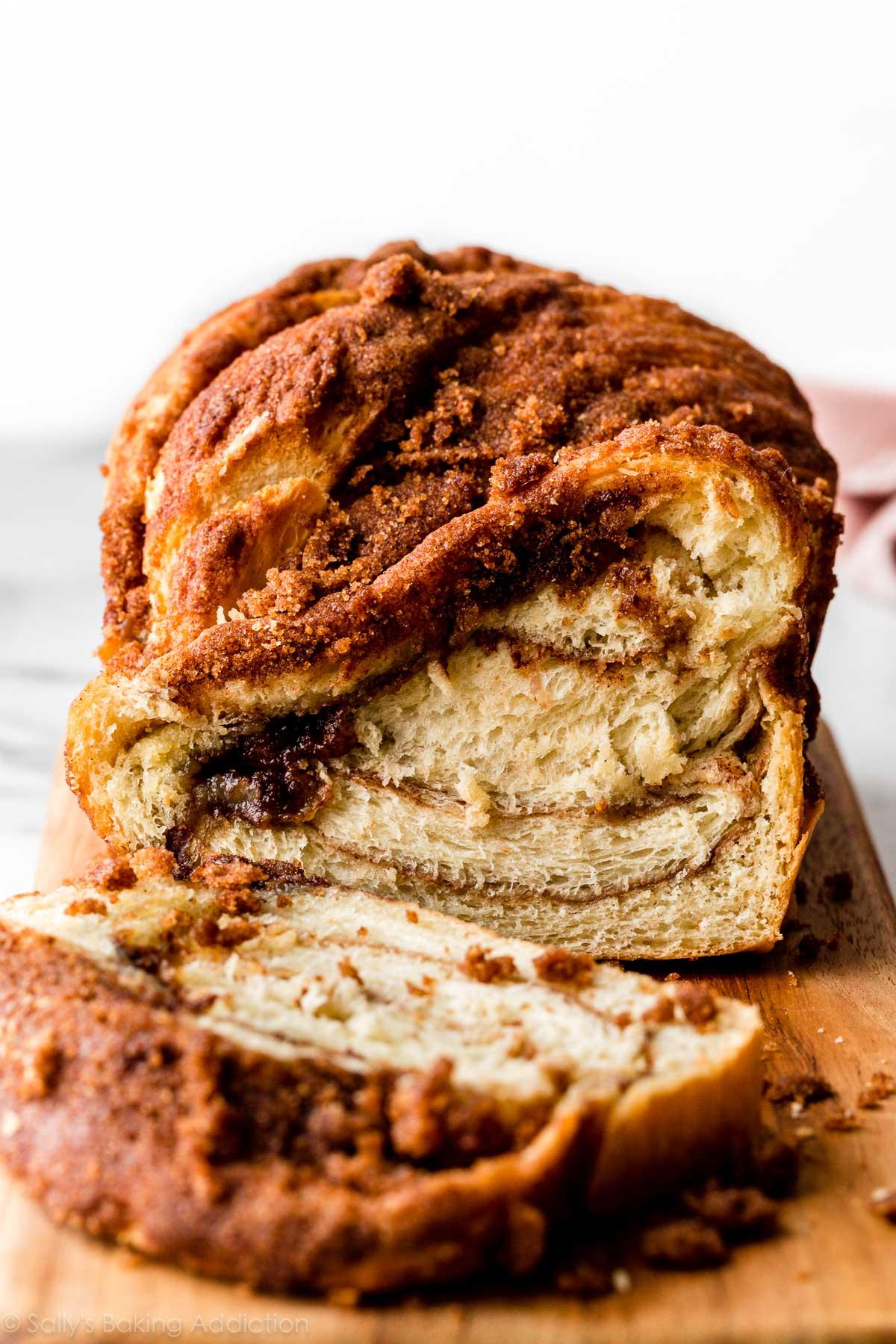 pain croquant à la cannelle