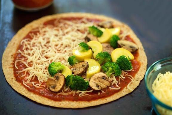 Recette de pizzadillas végétaliennes