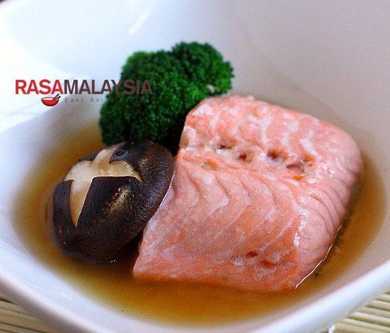 Photo of Saumon norvégien cuit à la vapeur