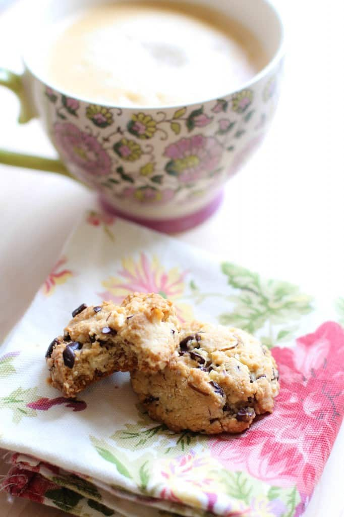 Biscuits aux éclats de cacao 2