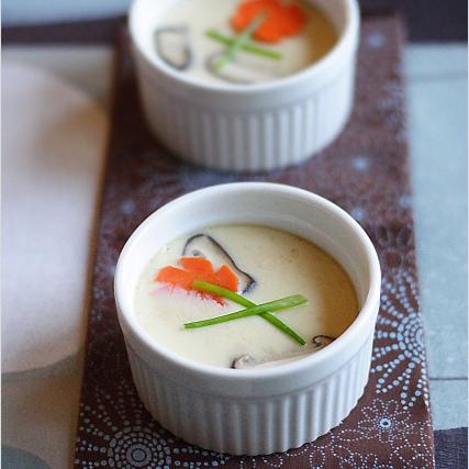 Photo of Chawanmushi (crème anglaise aux œufs cuits à la vapeur)