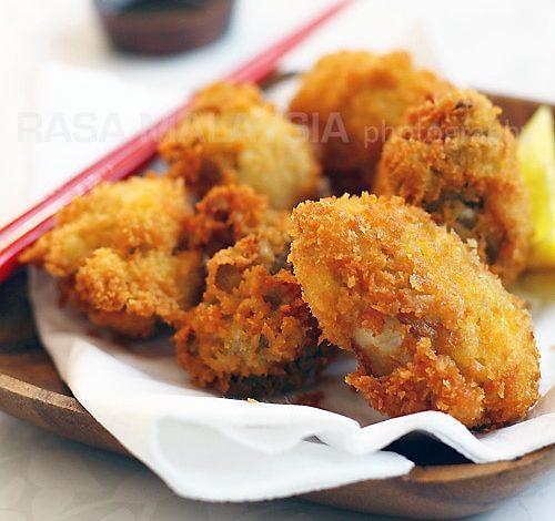 Photo of Huîtres Frites au Panko (Kaki Furai / Kaki Fry)