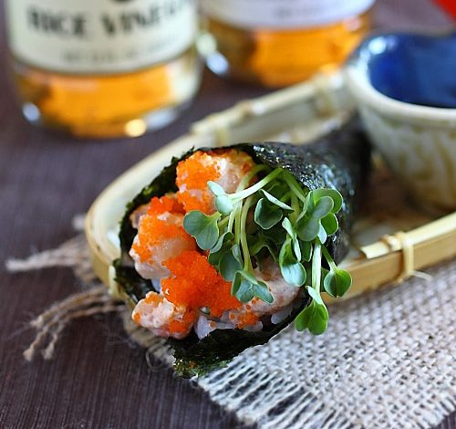 Photo of Rouleau à la main (recette Temaki)