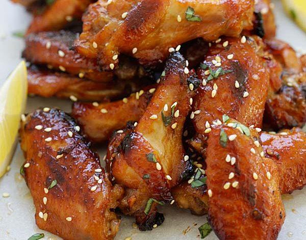 Photo of Ailes de poulet au miel et au miso