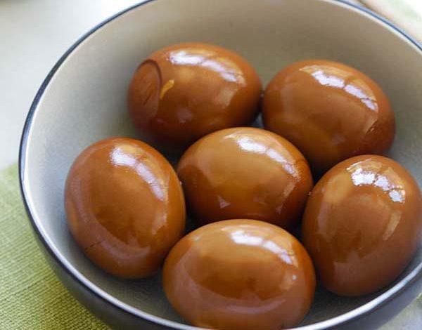 Photo of Œufs à la sauce soja (Shoyu Tamago)