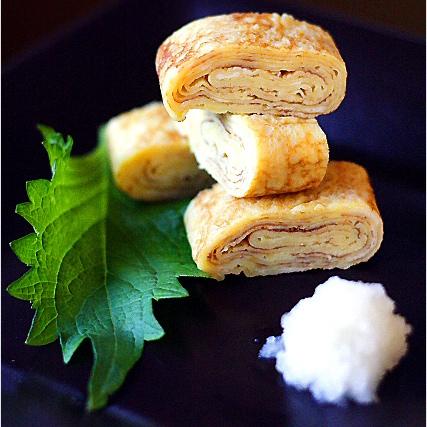 Photo of Omelette roulée japonaise (Tamagoyaki)
