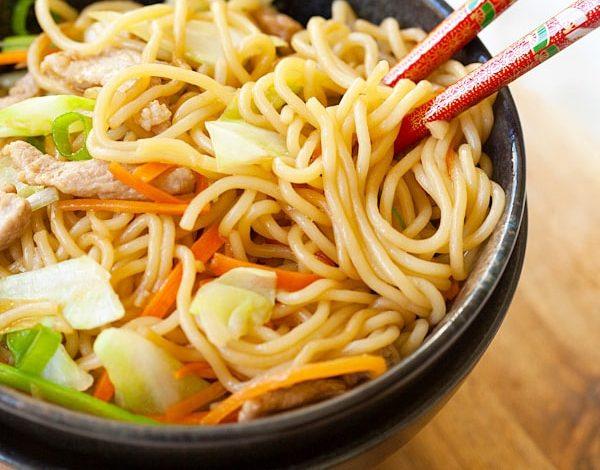 Photo of Yakisoba (nouilles sautées japonaises)