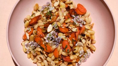 Photo of Salade de carottes, aneth et haricots blancs