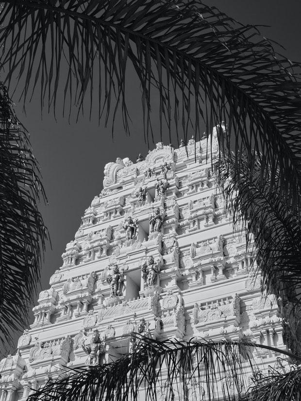 Temple hindou de Malibu
