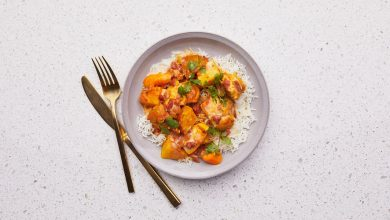Photo of Poulet Au Curry Jaune Aux Légumes