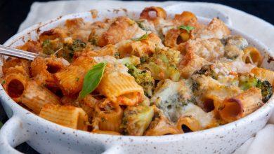 Photo of https://anitalianinmykitchen.com/cheesy-broccoli-pasta-bake/
